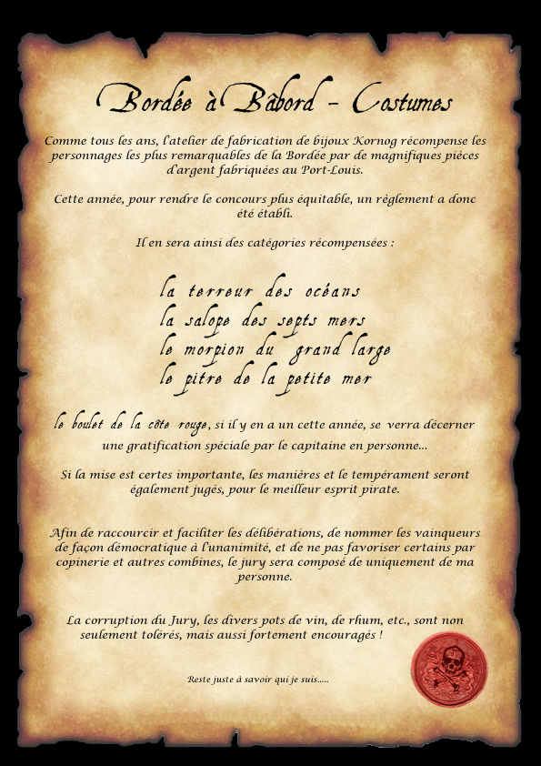 concours pirate